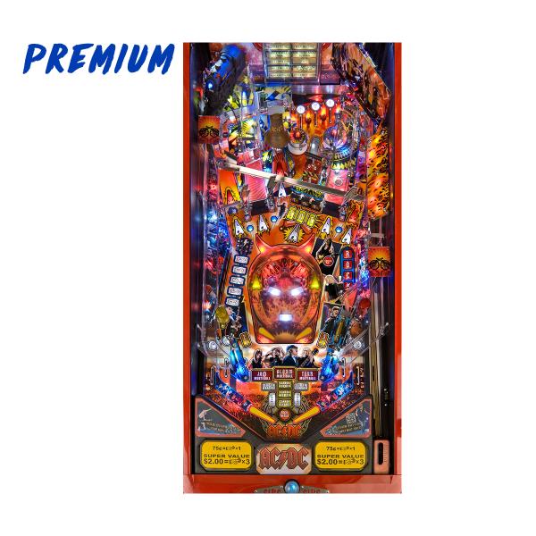ACDC Pinball Premium Edition Playfield by Stern Pinball
