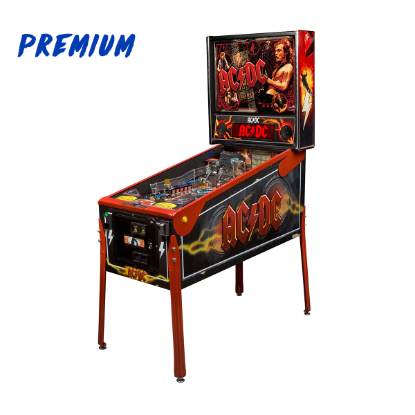 ACDC Pinball Premium Edition Full Side by Stern Pinball