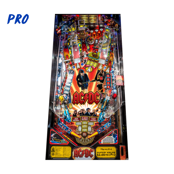 ACDC Pinball Pro Edition Playfield by Stern Pinball
