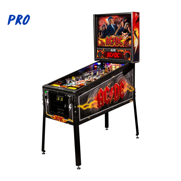 ACDC Pinball Pro Edition Full Side by Stern Pinball