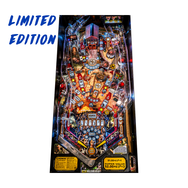 AMC's The Walking Dead Pinball Limited Edition Playfield by Stern Pinball