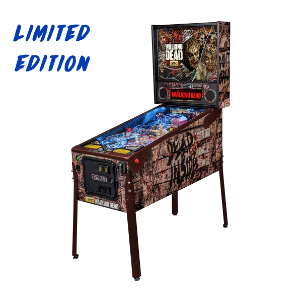 AMC's The Walking Dead Pinball Limited Edition Full Side by Stern Pinball