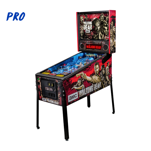 AMC's The Walking Dead Pinball Pro Edition Full Side by Stern Pinball