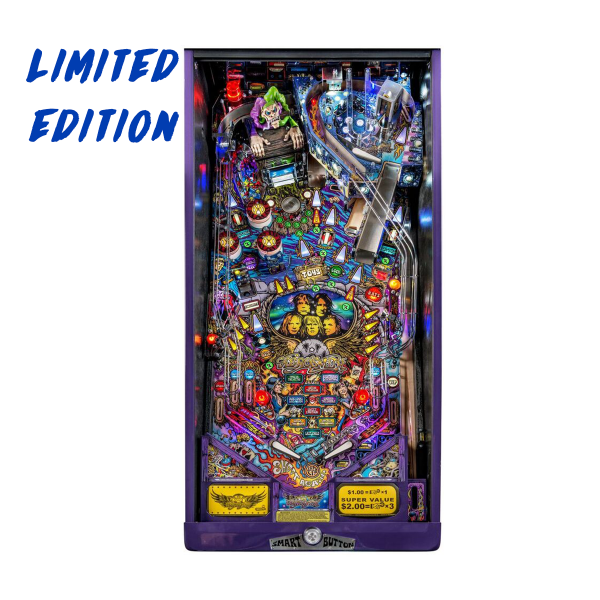 Aerosmith Pinball Limited Edition Playfield by Stern Pinball