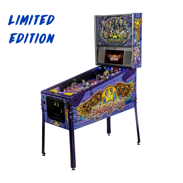 Aerosmith Pinball Limited Edition Full Side by Stern Pinball