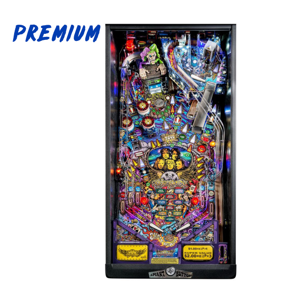 Aerosmith Pinball Premium Edition Playfield by Stern Pinball