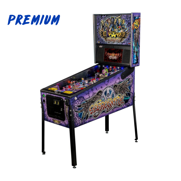 Aerosmith Pinball Premium Edition Full Side by Stern Pinball