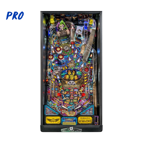 Aerosmith Pinball Pro Edition Playfield by Stern Pinball