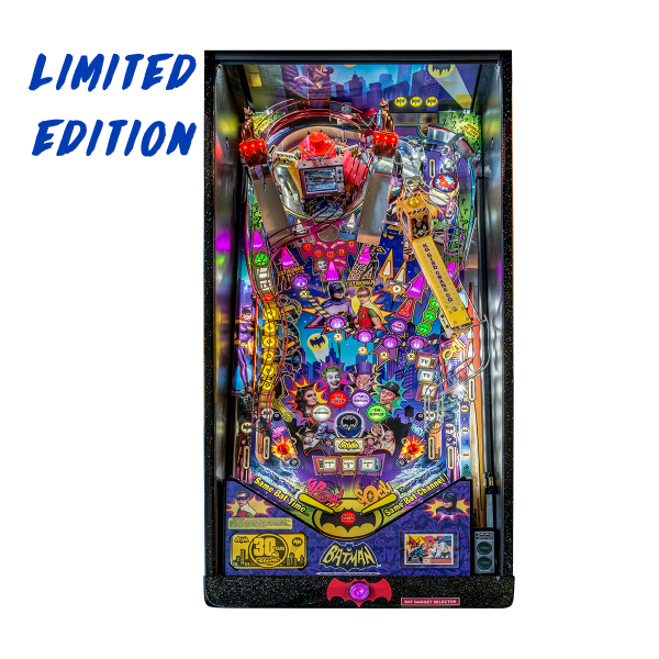 Batman 66 'Anniversary Edition' Pinball Limited Edition Playfield by Stern Pinball