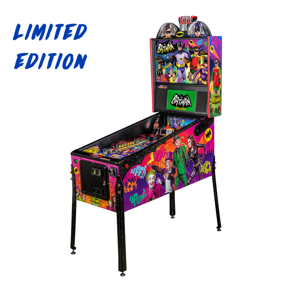 Batman 66 'Anniversary Edition' Pinball Limited Edition Full Side by Stern Pinball
