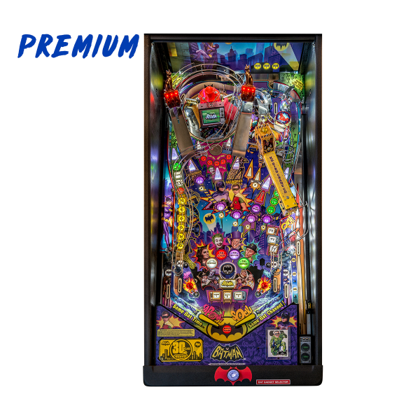 Batman 66 'Anniversary Edition' Pinball Premium Edition Playfield by Stern Pinball