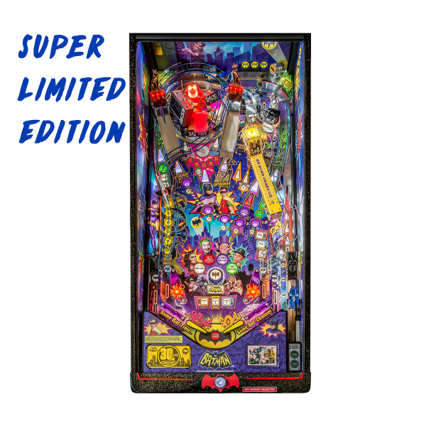 Batman 66 'Anniversary Edition' Pinball Super Limited Edition Playfield by Stern Pinball