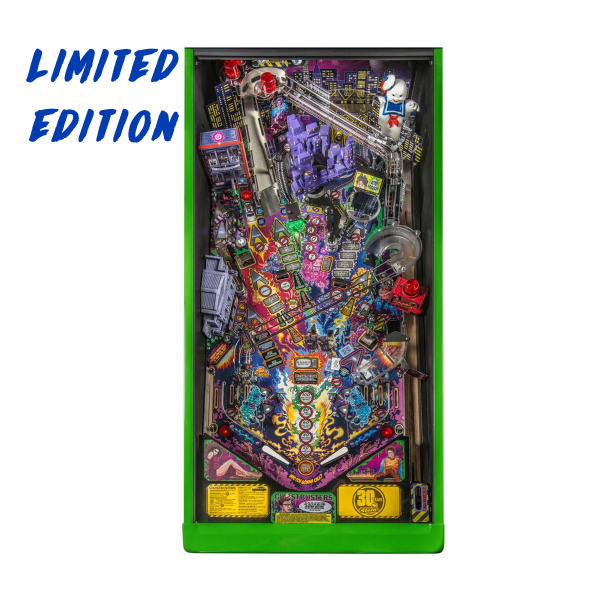 Ghostbusters Pinball Limited Edition Playfield by Stern Pinball