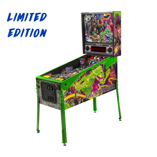 Ghostbusters Pinball Limited Edition Full Side by Stern Pinball
