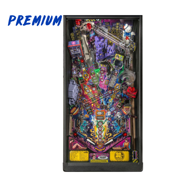 Ghostbusters Pinball Premium Edition Playfield by Stern Pinball