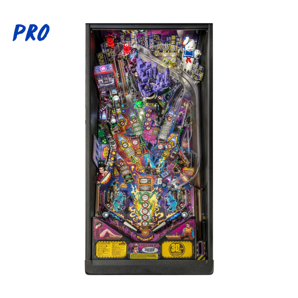 Ghostbusters Pinball Pro Edition Playfield by Stern Pinball