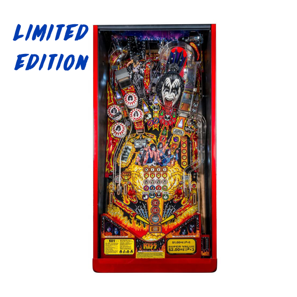 KISS Pinball Limited Edition Playfield by Stern Pinball