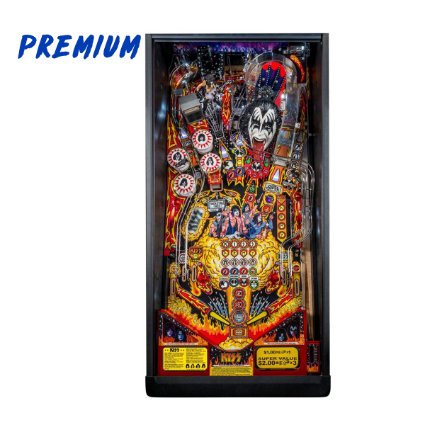 KISS Pinball Premium Edition Playfield by Stern Pinball