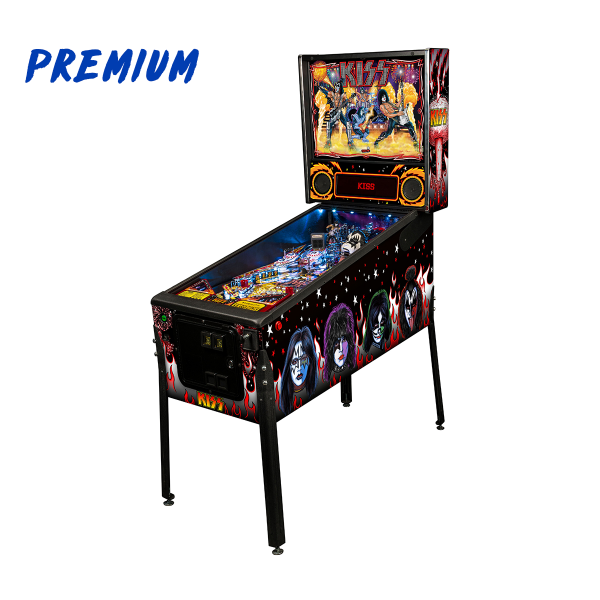 KISS Pinball Premium Edition Full Side by Stern Pinball