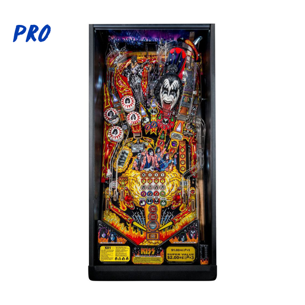 KISS Pinball Pro Edition Playfield by Stern Pinball