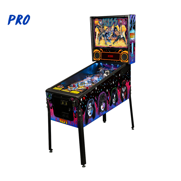 KISS Pinball Pro Edition Full Side by Stern Pinball