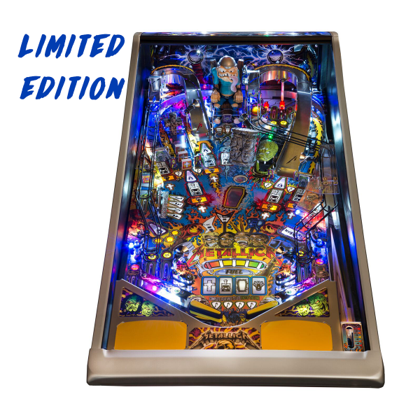 Metallica Pinball Limited Edition Playfield by Stern Pinball