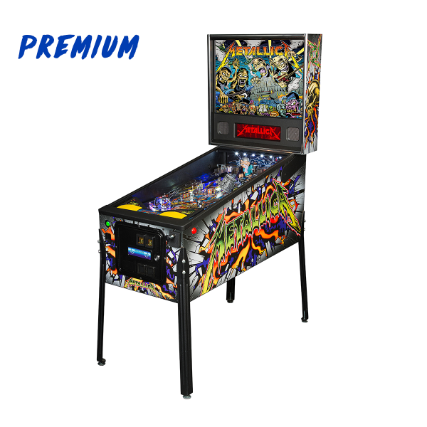 Metallica Pinball Premium Edition Full Side by Stern Pinball