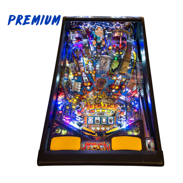 Metallica Pinball Premium Edition Playfield by Stern Pinball