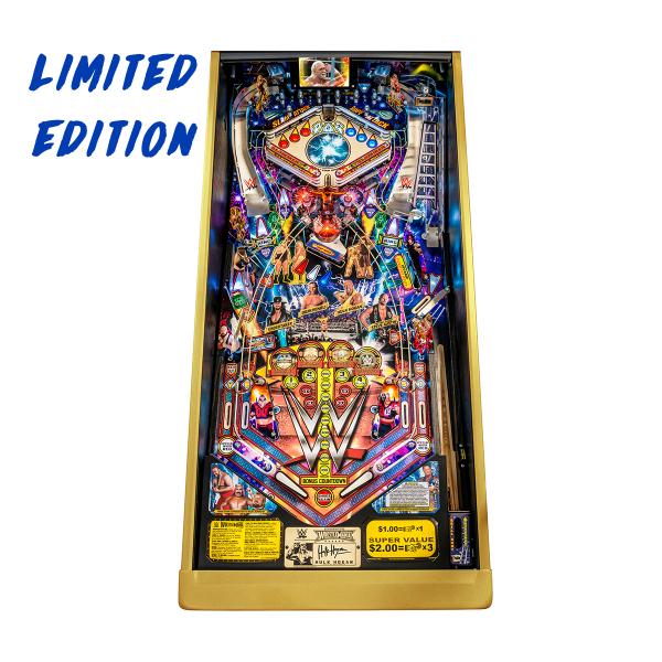 WWE WrestleMania Pinball Limited Edition Playfield by Stern Pinball