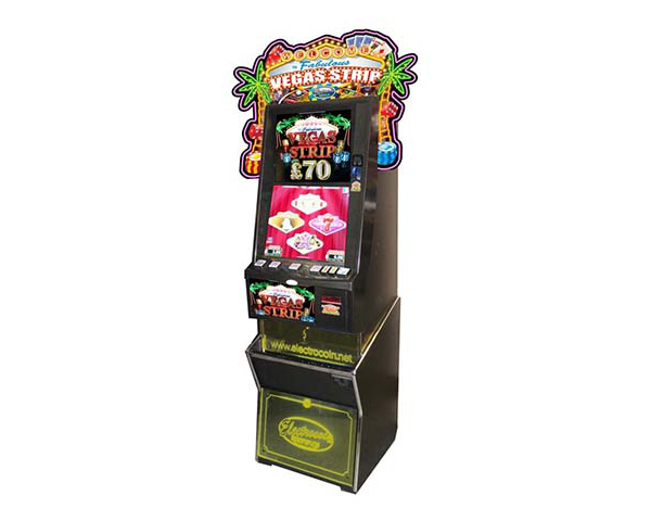 Vegas Strip CSX by Electrocoin, CAT C £70/£100 Jackpot – AWP, Fruit machines and slots