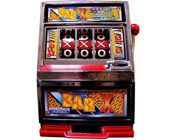 BAR-X Money Box by Electrocoin - Prize games & Redemption & Online