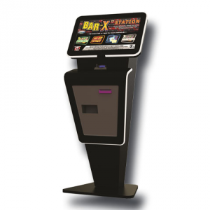 Bar-X Tablet Kiosk by Electrocoin, CAT C £100 Jackpot – AWP, Fruit Machines & Slot