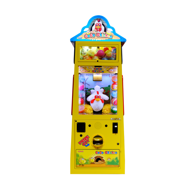GOGO CHICKEN by Electrocoin – Prize Vending Games & Redemption