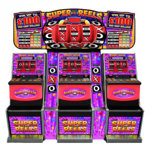 OXO Super Reels by Electrocoin, CAT C £50/£70/£100 Jackpot – AWP, Fruit machines and slots