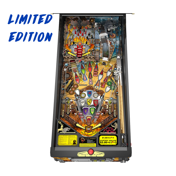 Game of Thrones Pinball Limited Edition Playfield by Stern Pinball