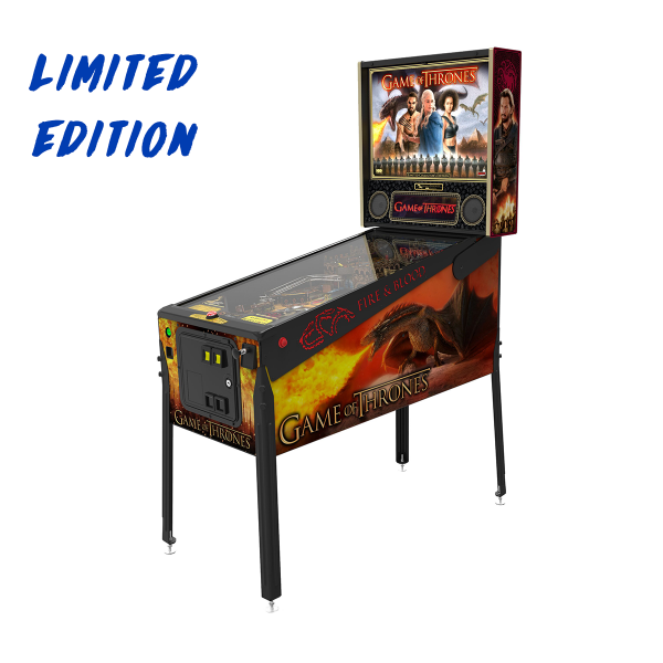 Game of Thrones Pinball Limited Edition Full Side by Stern Pinball