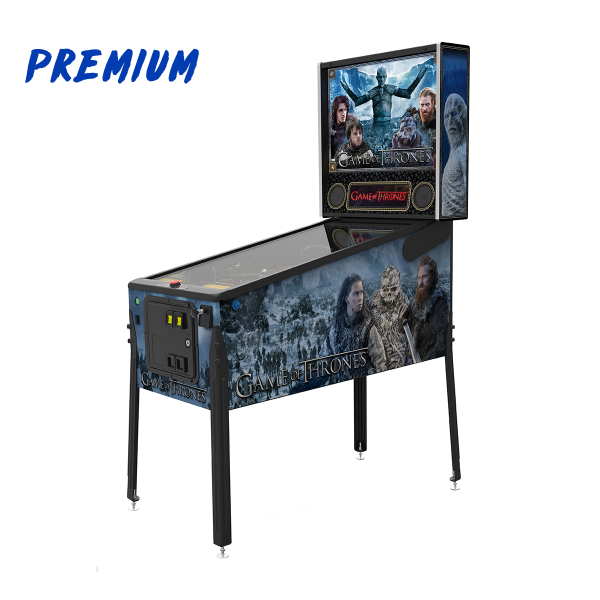 Game of Thrones Pinball Premium Edition Full Side by Stern Pinball