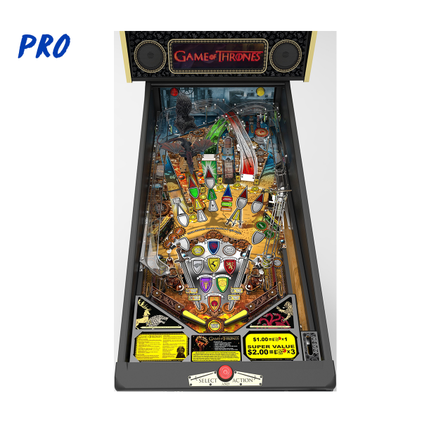 Game of Thrones Pinball Pro Edition Playfield by Stern Pinball