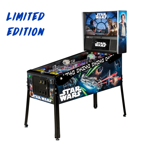 Star Wars Pinball Limited Edition Full Side by Stern Pinball