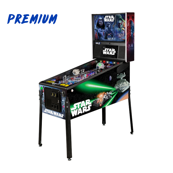 Star Wars Pinball Premium Edition Full Side by Stern Pinball