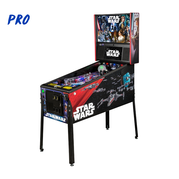 Star Wars Pinball Pro Edition Full Side by Stern Pinball