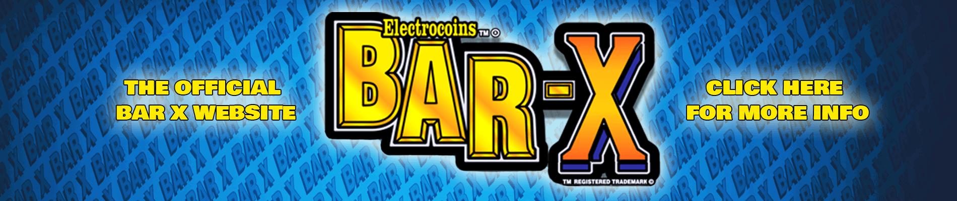 Official Bar X website