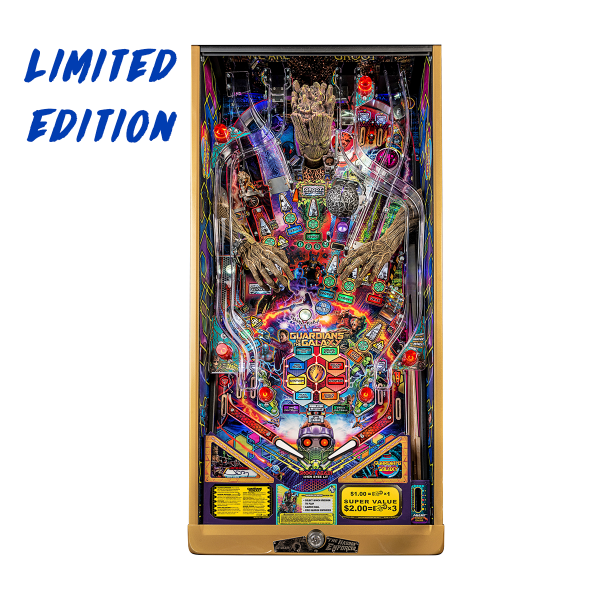 Guardians of The Galaxy Pinball Limited Edition Playfield by Stern Pinball