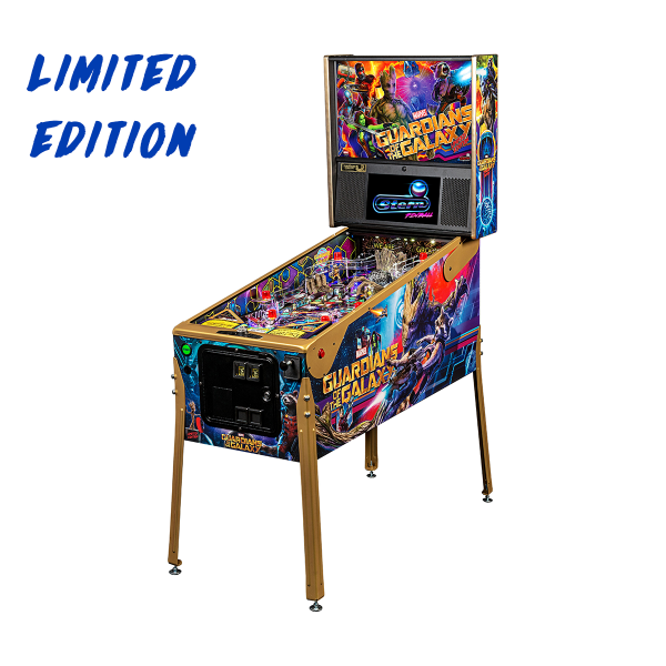 Guardians of The Galaxy Pinball Limited Edition Full Side by Stern Pinball