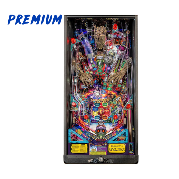 Guardians of The Galaxy Pinball Premium Edition Playfield by Stern Pinball