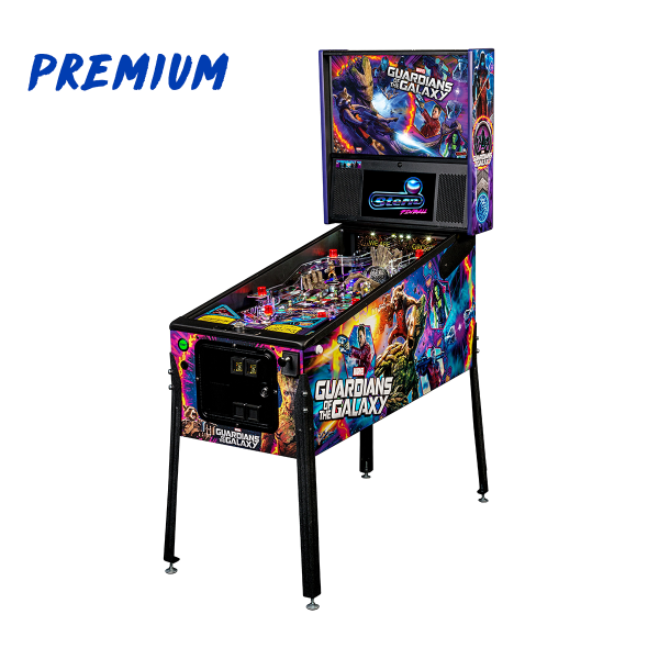 Guardians of The Galaxy Pinball Premium Edition Full Side by Stern Pinball