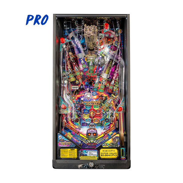 Guardians of The Galaxy Pinball Pro Edition Playfield by Stern Pinball