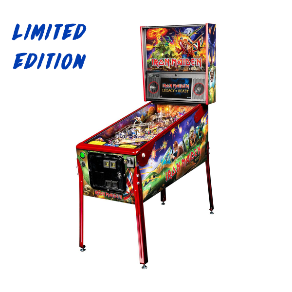 Iron Maiden Pinball Limited Edition Full Side by Stern Pinball