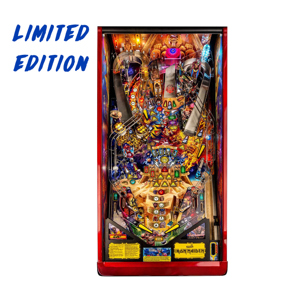 Iron Maiden Pinball Limited Edition Playfield by Stern Pinball