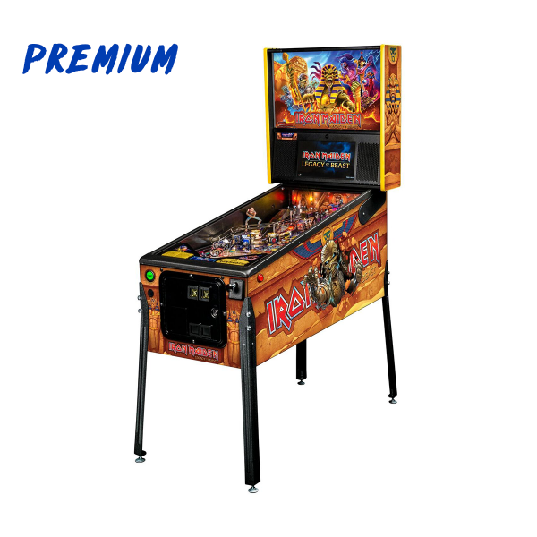 Iron Maiden Pinball Premium Edition Full Side by Stern Pinball
